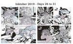 .:Inktober 2019 Summary: Days 26 to 31:.