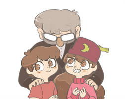happy family by mushroomstairs