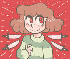 demon kid by mushroomstairs
