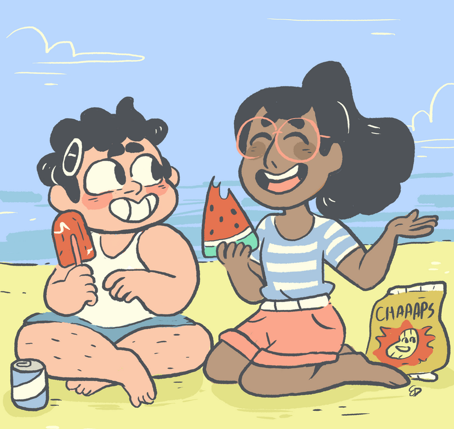 it's a picnic with the jam buds!! also on tumblr: mushroomstairs.tumblr.com/post…
