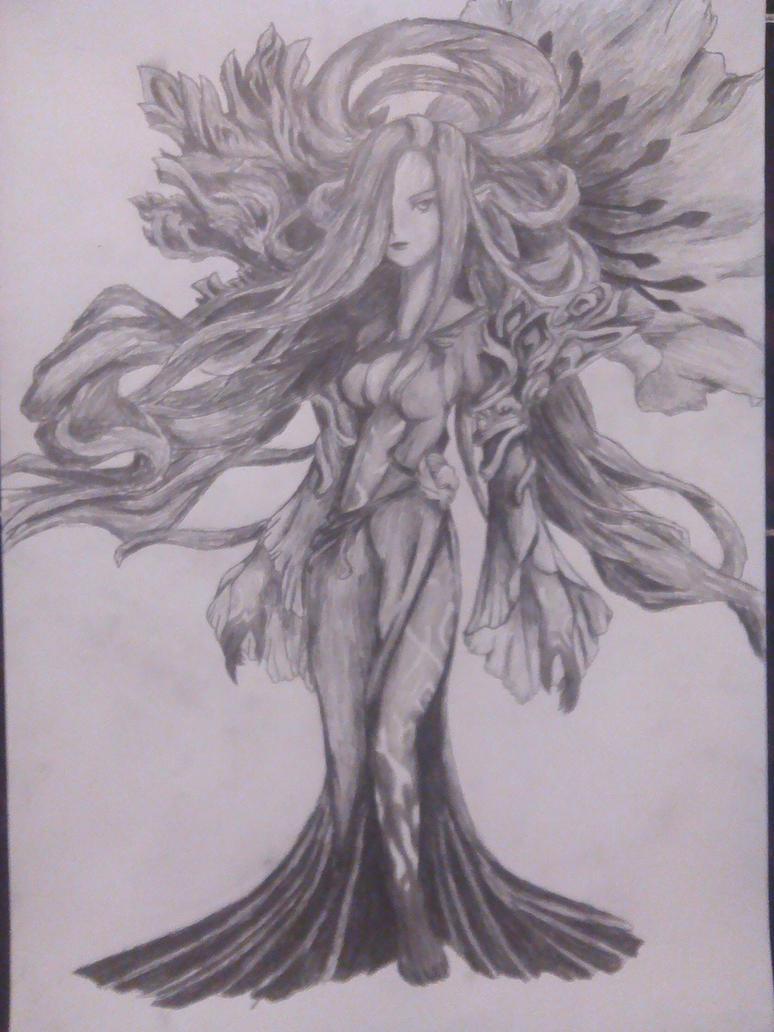 Medusa from Dawn of Mana by masterofshadows798