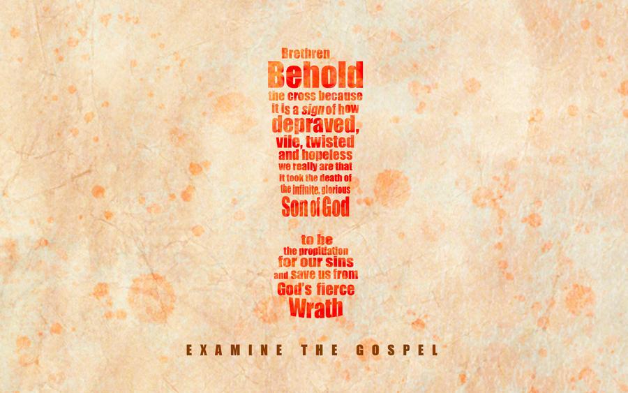 Examine the Gospel by whitenine