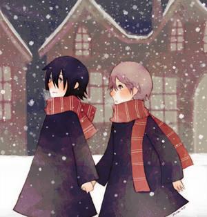 Sirius+Remus: Snow