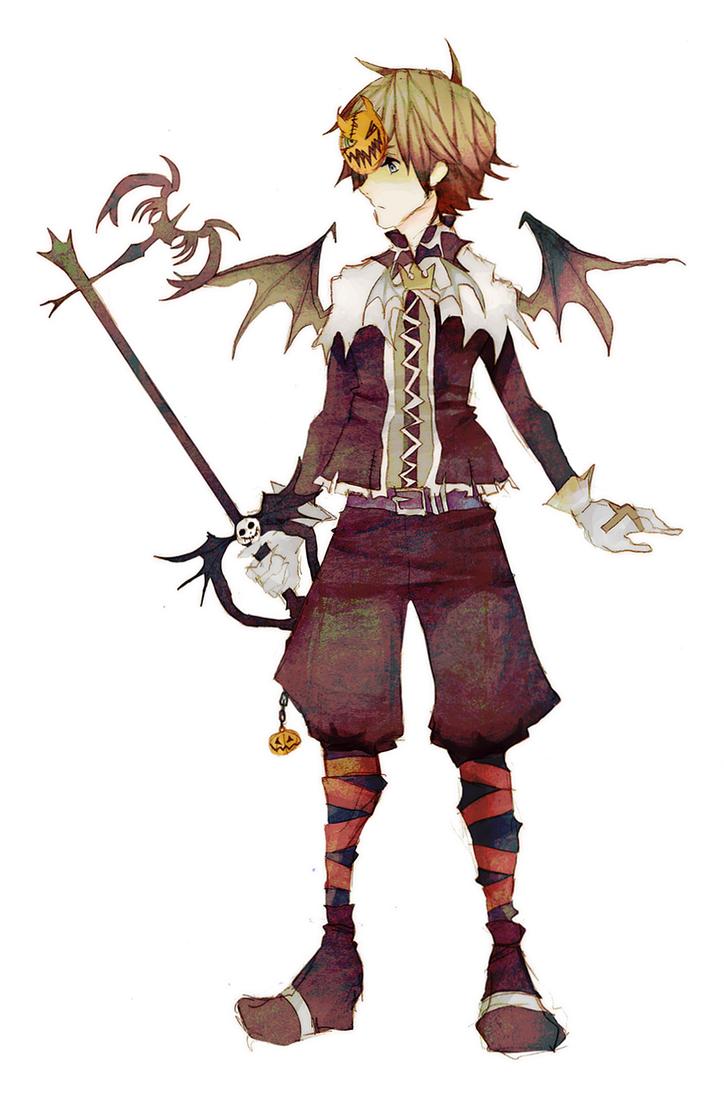 Halloween Town Sora by ruuari on DeviantArt