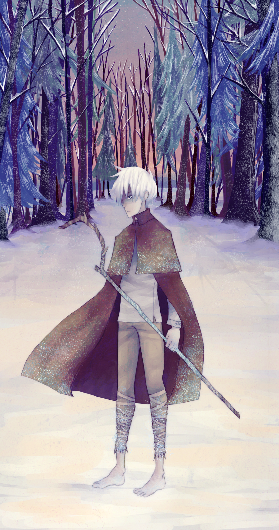 Jack Frost Alone by ruuari