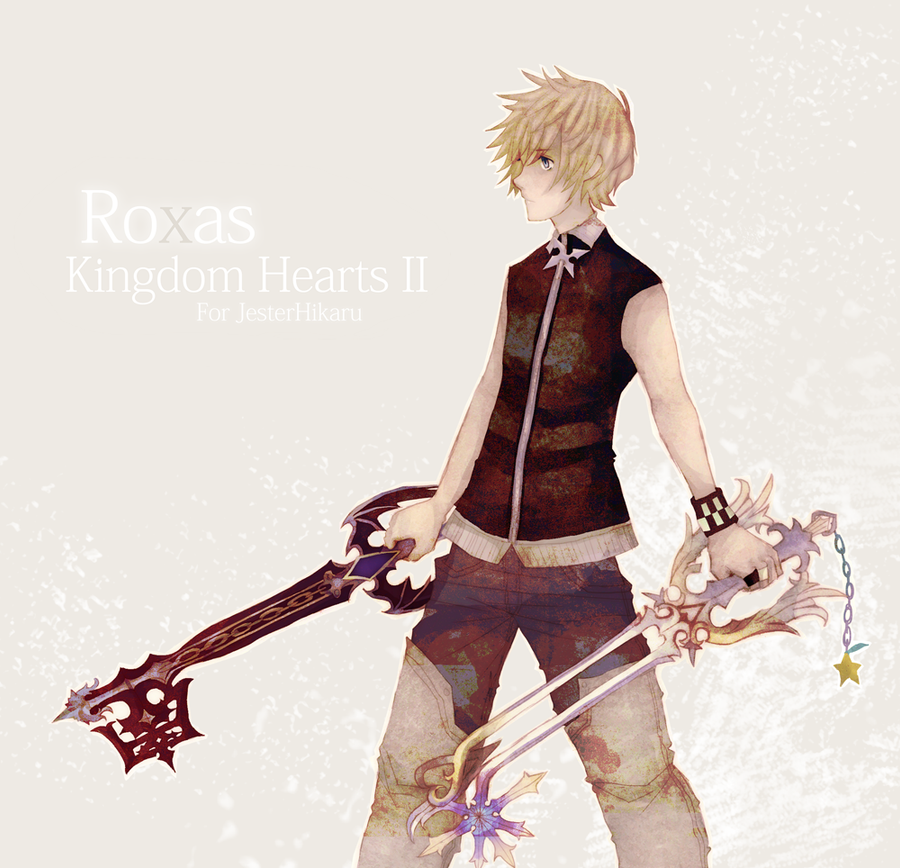 .:For JesterHikaru:. Roxas by ruuari