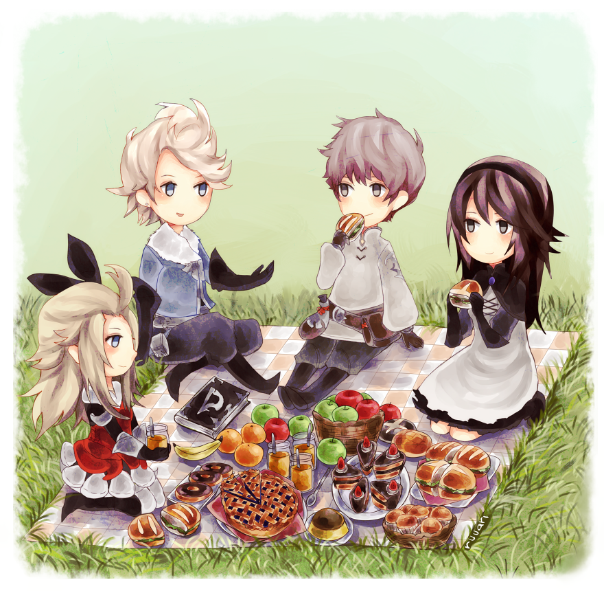 Bravely Default Picnic by ruuari