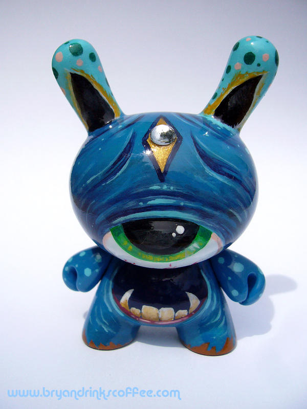 Crete - custom Dunny by bryancollins