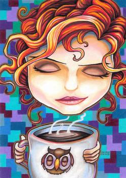 Annie August Coffee Girl