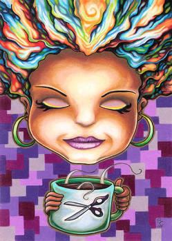 Olexa October Coffee Girl