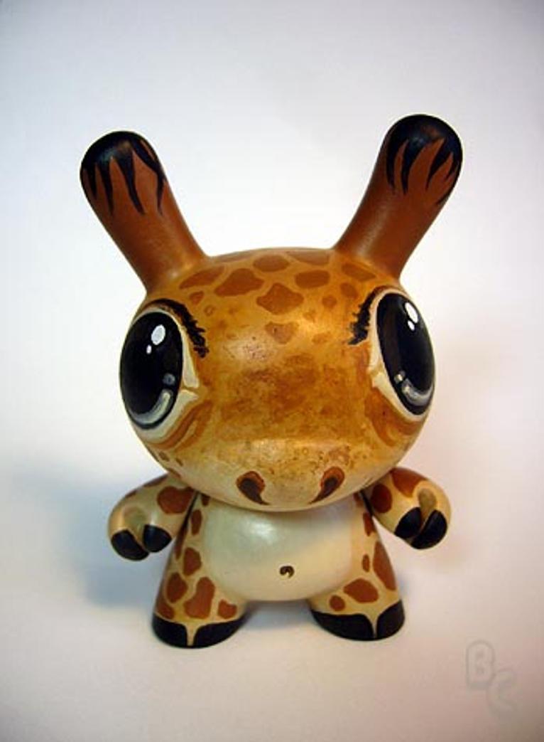 Giraffe Dunny - Serengeti by bryancollins