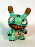 Crazy Eight Dunny by bryancollins