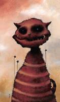 El Gato Rojo by bryancollins