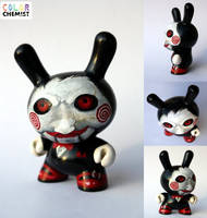 Saw Puppet Dunny by bryancollins
