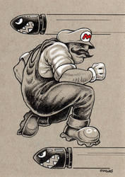 Mario by bryancollins