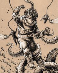 Danger Dive by bryancollins