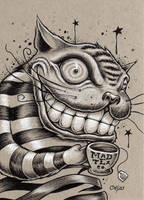Tea Time For The Cat by bryancollins