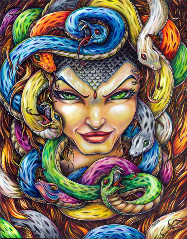 Medusa by bryancollins