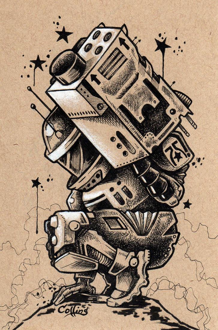 Mecha Bot 1 by bryancollins