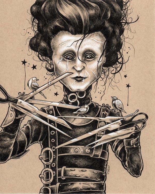 Edward Scissorhands by bryancollins