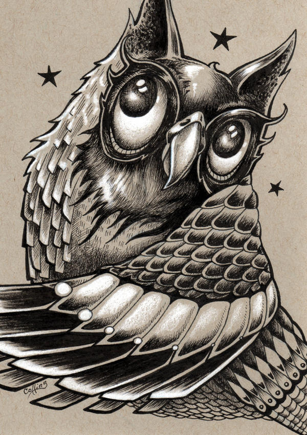 Decorative Owl by bryancollins