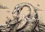 Nessie and Jon Boat