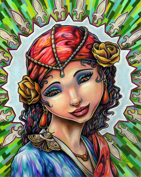 Gypsy's Moth by bryancollins
