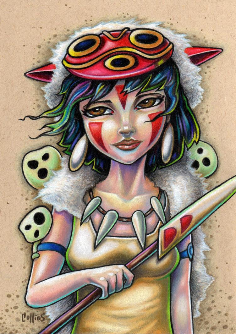 Princess Mononoke by bryancollins