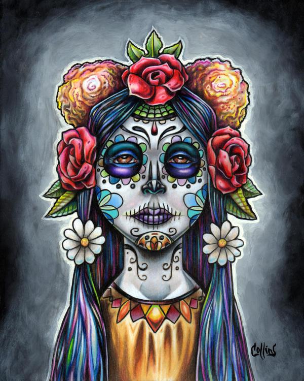 Dia de los Muertos by bryancollins
