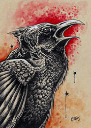 Raven by bryancollins