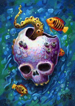 Underwater Skull