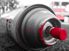 red spray can by Aiden671