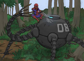 Omnidroid Vs. Spiderman