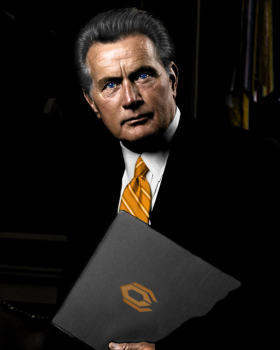 Martin Sheen- The Illusive Man by Van-Geo on DeviantArt