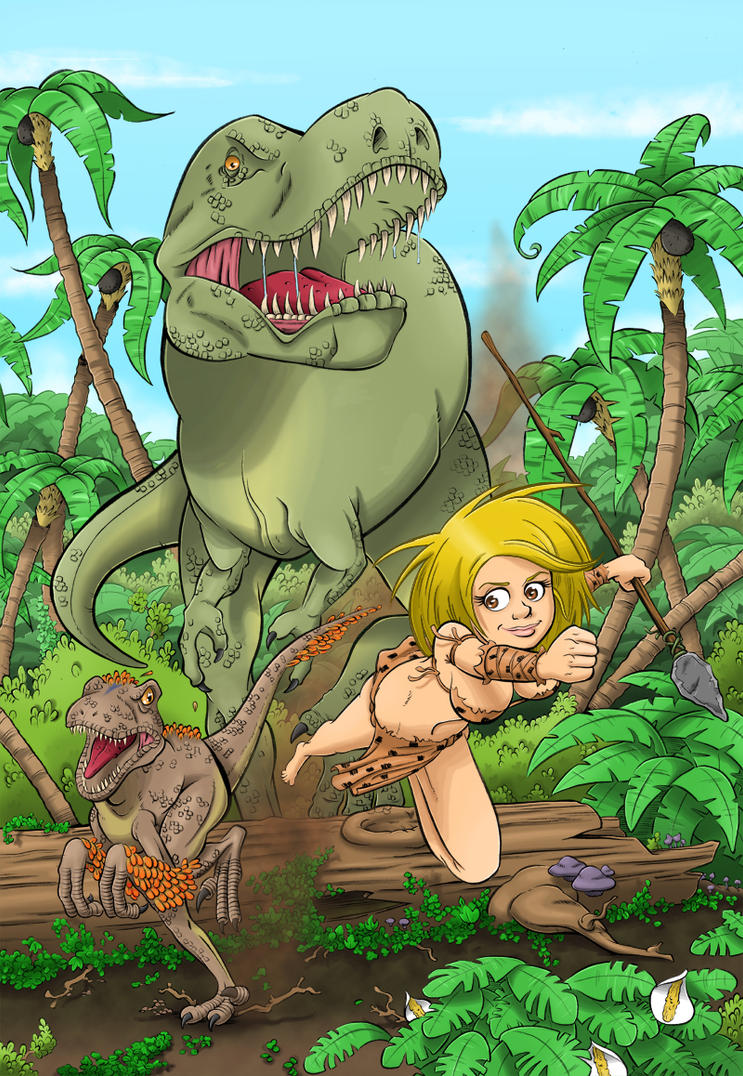 Prehistoric Girl by El-Jerko