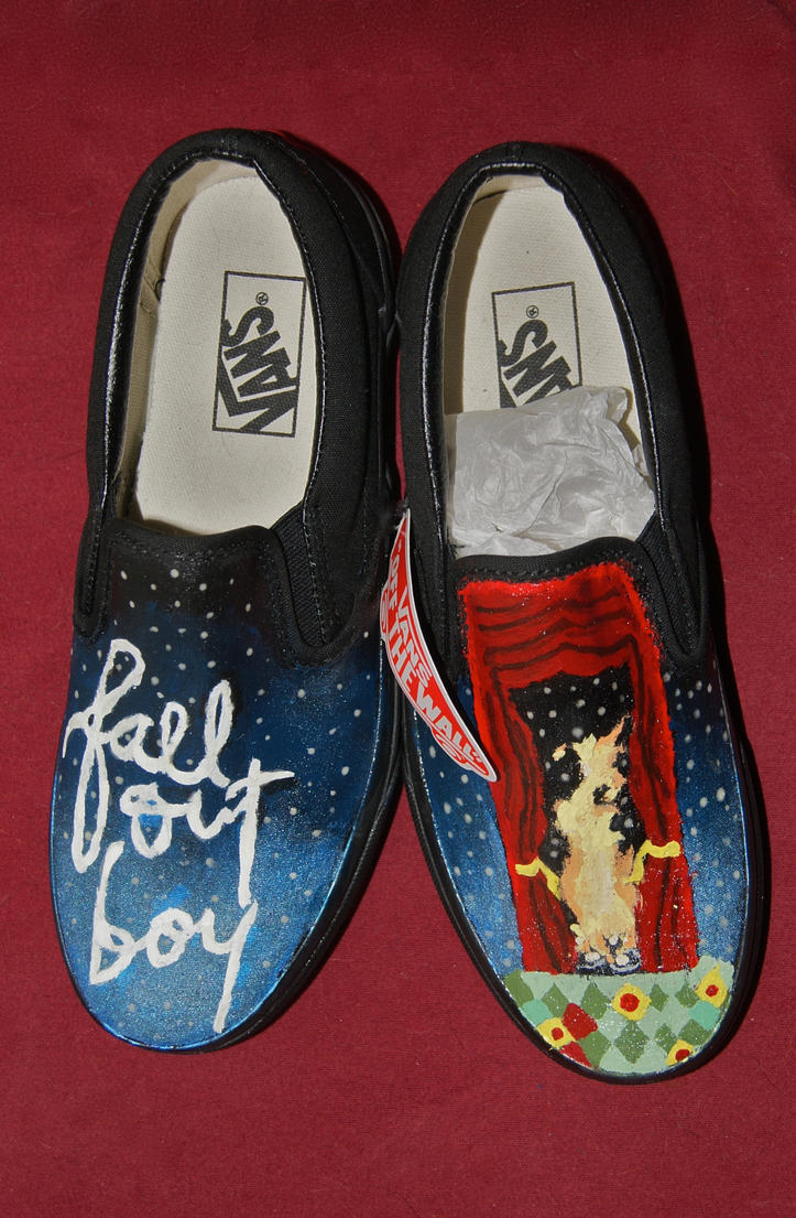 Fall Out Boy-Vans by Arie-Vampiress