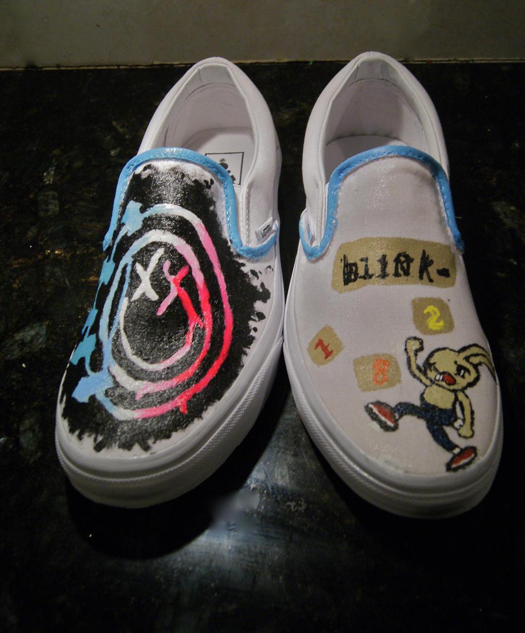 comprar mejor Venta de descuento 2019 lujo Blink-182-Vans by Arie-Vampiress on DeviantArt
