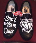 Stick To Your Guns-Vans by Arie-Vampiress