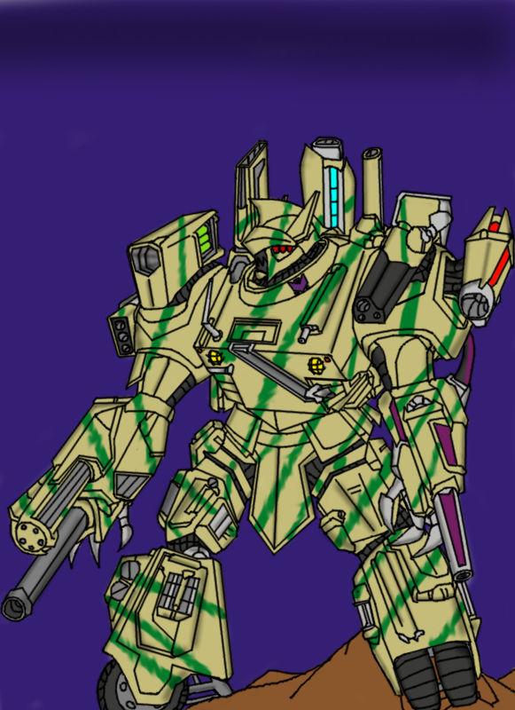 The new Terrashock (Full body version)