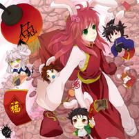 Happy Chinese New Year 2011 by youkokurama1