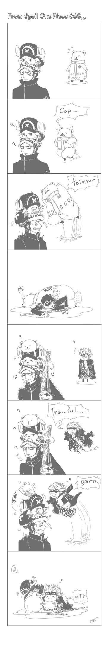 Law - On head by youkokurama1