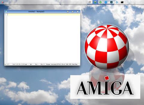 AmigaOS 4.1 Borderless theme