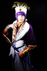 Magi the labyrinth of magic - Sinbad cosplay by JhonkunAGM