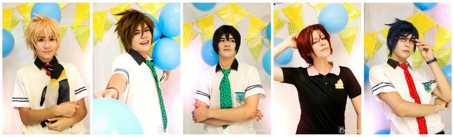 Iwatobi team ~ by JhonkunAGM