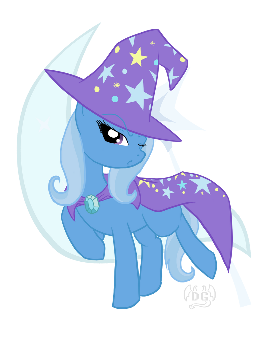 Gift: The GREAT and POWERFUL Trixie by DragonGirl983
