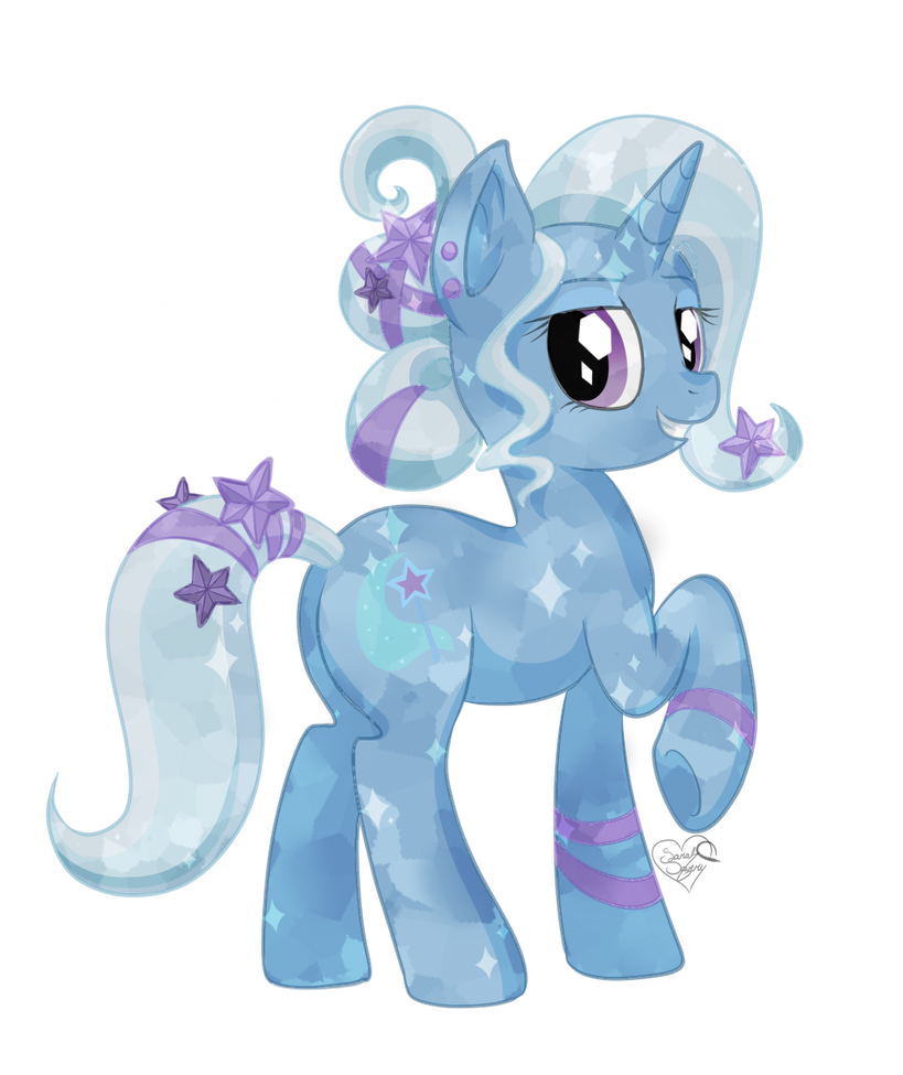 Crystal Trixie by DragonGirl983