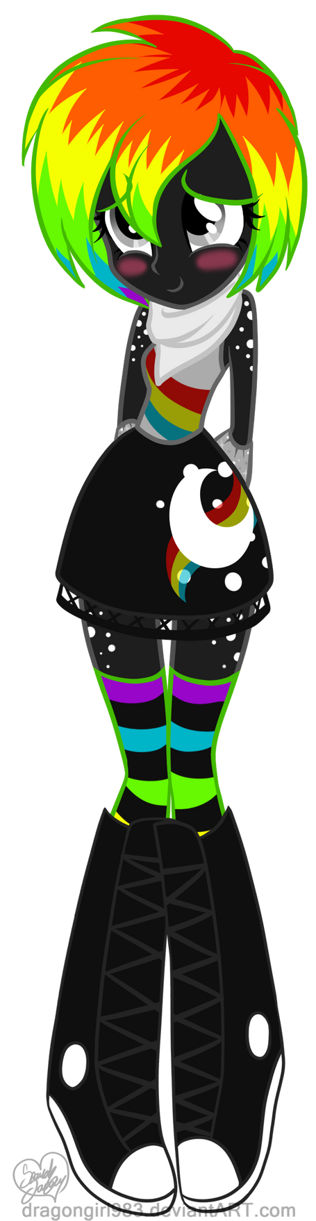 Equestria Girls: shy Speccy by DragonGirl983