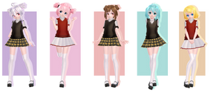 TDA - Elementary School Girls [Private Dl]