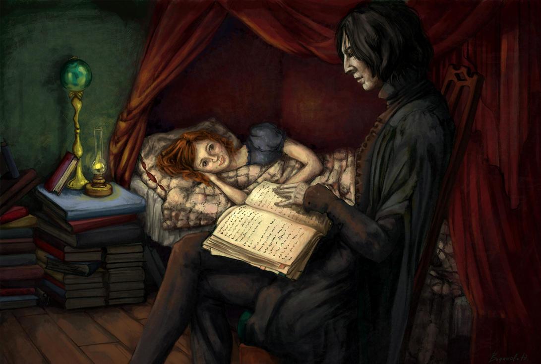 Snape Tales By J Vidanova On DeviantArt