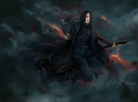 Flying Severus by j-vidanova